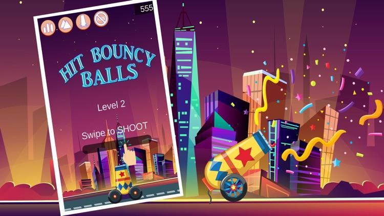 Hit Bouncy Balls: Jumping Ball