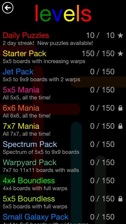 Flow Free: Warps screenshot-3