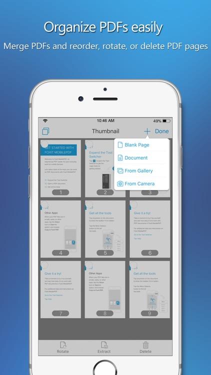 Foxit PDF Reader & Converter screenshot-3