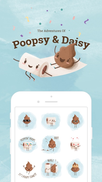 Poopsy Daisy - Poo stickers