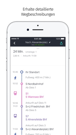 HERE WeGo – Stadt-Navigation Screenshot