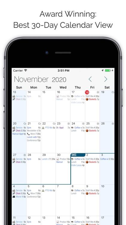 Informant 5 Calendar screenshot-0