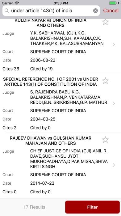 Screenshots for LegalAstra High Court