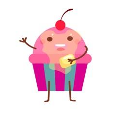 Delicious Cupcake Emoji