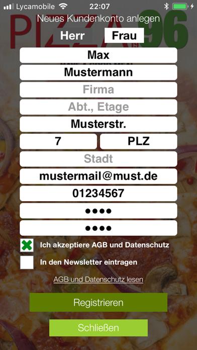 Pizza 96 HannoverScreenshot von 2