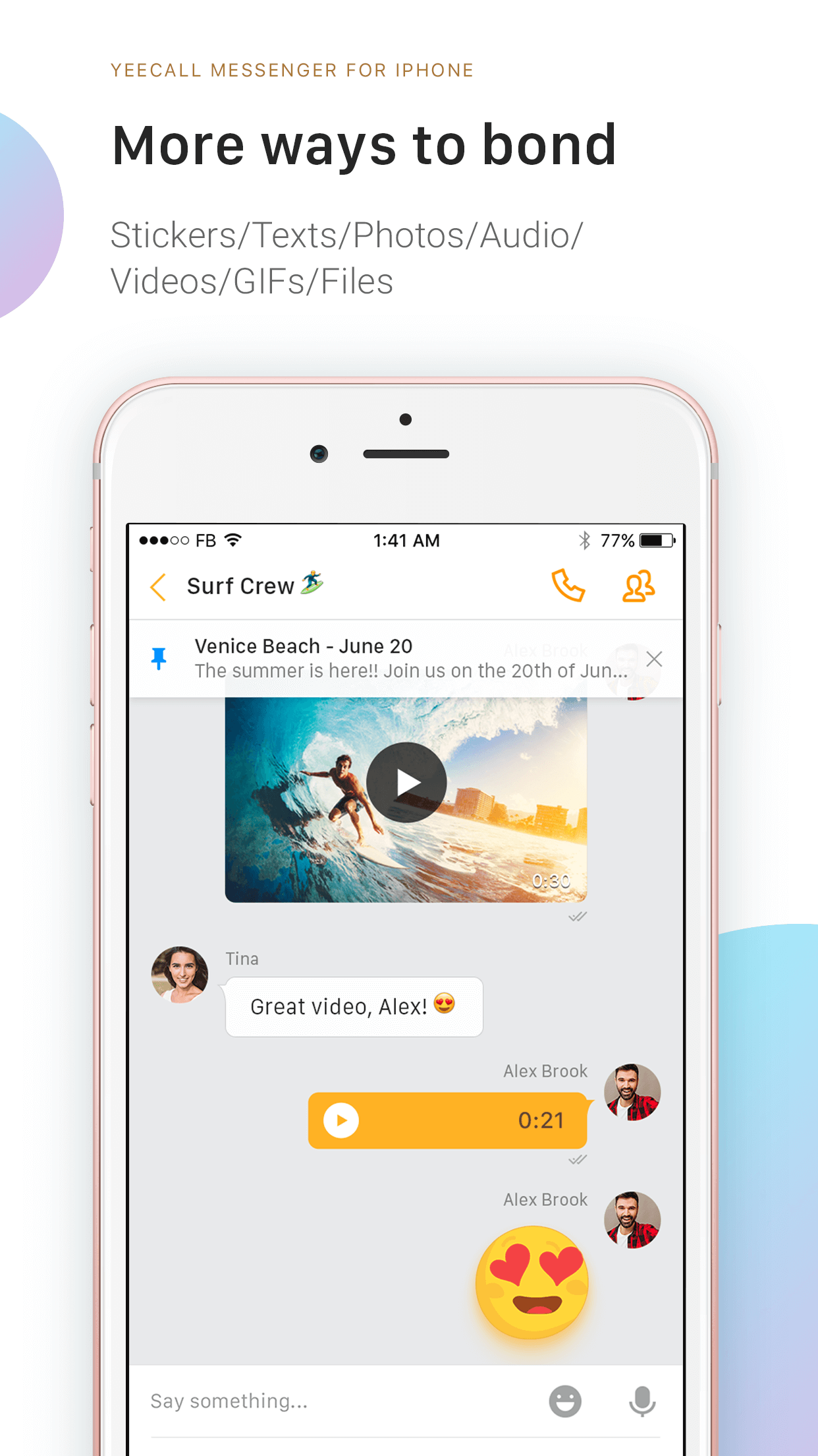 YeeCall, HD Voice & Video Call Screenshot