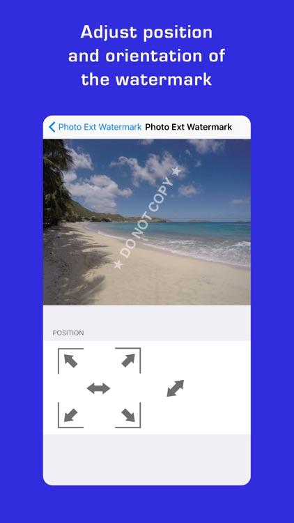 Photo Extension Watermark screenshot-3