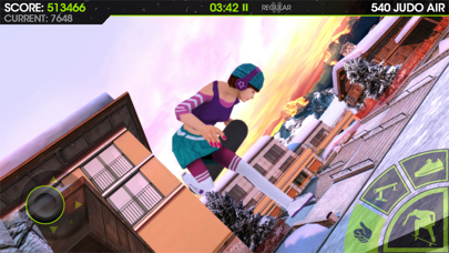 Screenshot from Skateboard Party 2 Pro