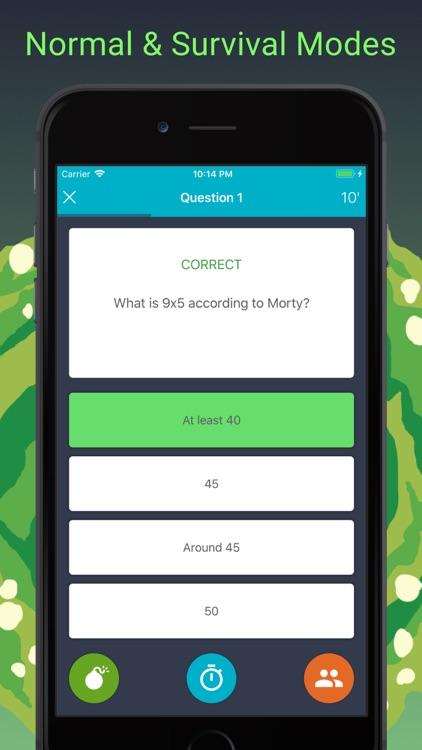 Rick and Morty Quiz screenshot-3