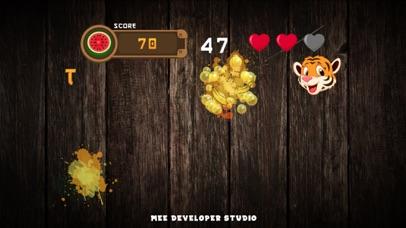 Fruit Vocabulary Ninja Puzzle screenshot two