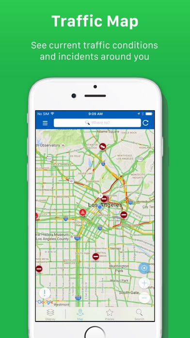 Screenshot for INRIX Traffic in United States App Store
