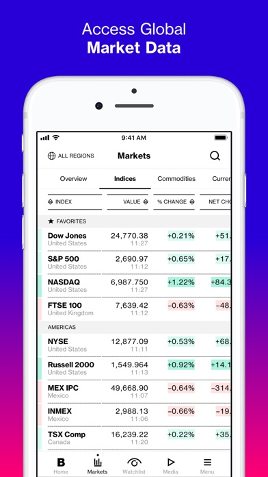 Bloomberg: Business News screenshot two