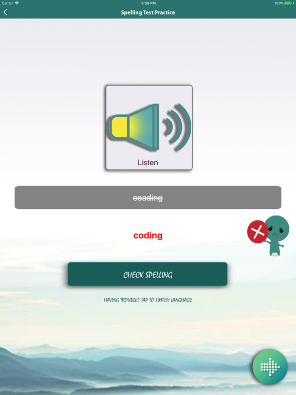 Literacy Spelling Practise screenshot 12
