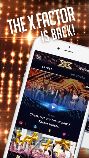 The X Factor on the App Store