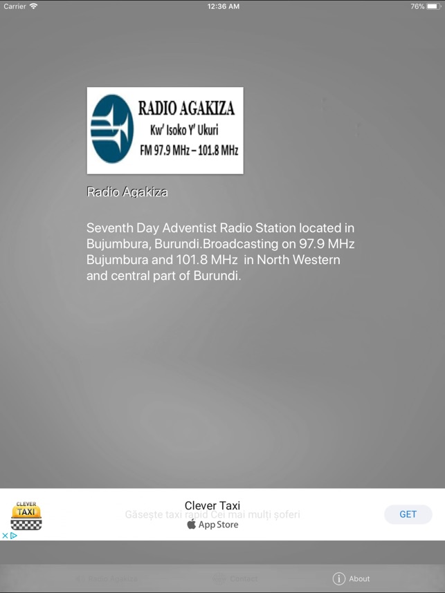 Radio Agakiza on the App Store