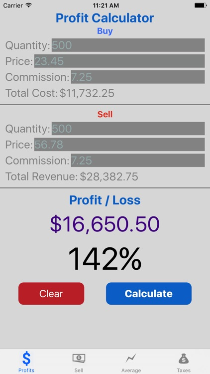 Stock Target Calculator Pro screenshot-0