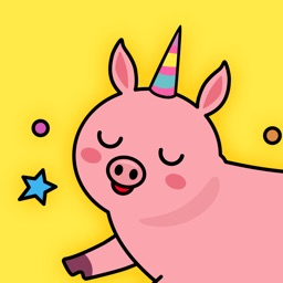 Piggy & Unicorn Animated