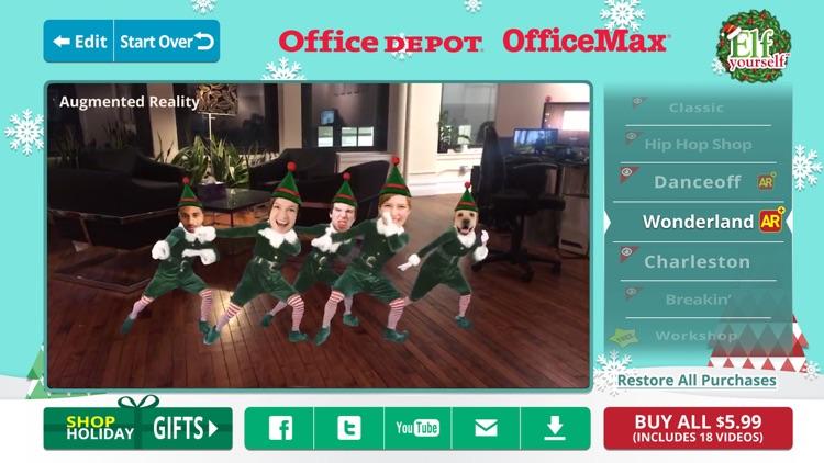 ElfYourself® By Office Depot screenshot-4