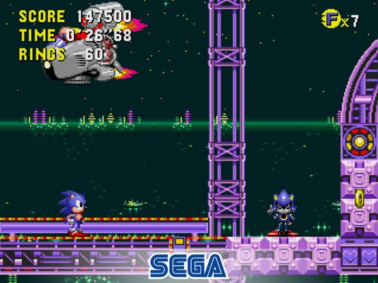 Sonic CD Classic Screenshots
