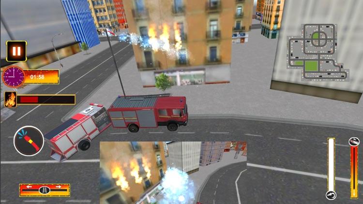 Fire Truck Driving Mission screenshot-4