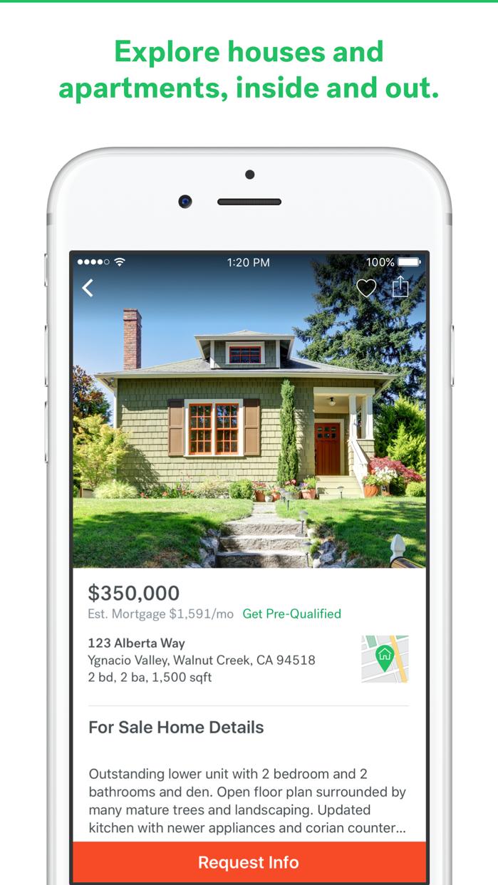 Trulia Real Estate Screenshot