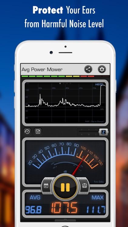 Decibel X - dBA Noise Meter screenshot-4