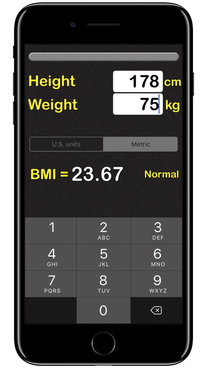 BMI Calculator‰ Screenshot