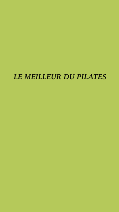 LE MEILLEUR DU PILATES screenshot two
