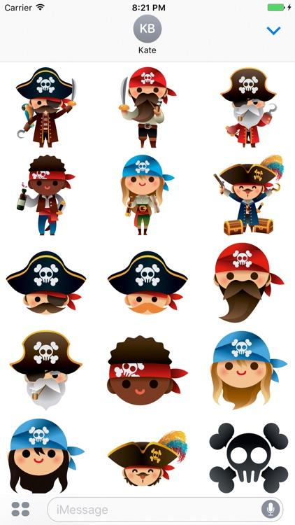 Piratemoji - Pirate Stickers and Emoji