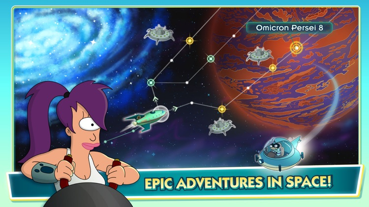 Futurama: Worlds of Tomorrow screenshot-4
