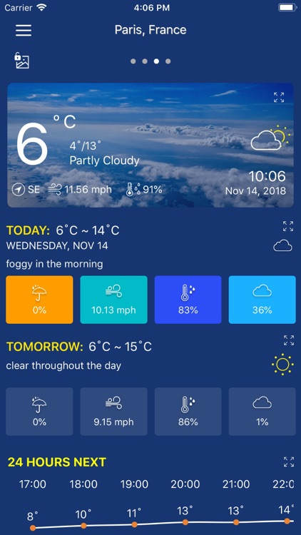Accurate Weather forecast &map screenshot-6