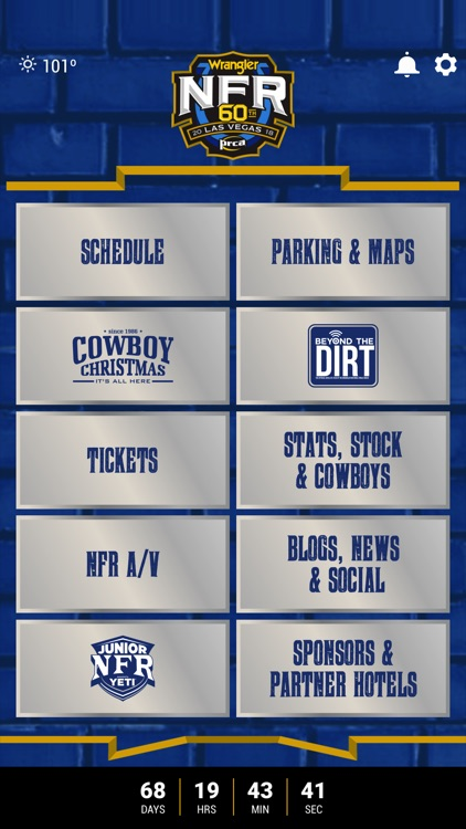 NFR Experience App 2018 by Las Vegas Events