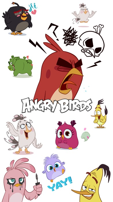 Angry Birds Stickers for Windows