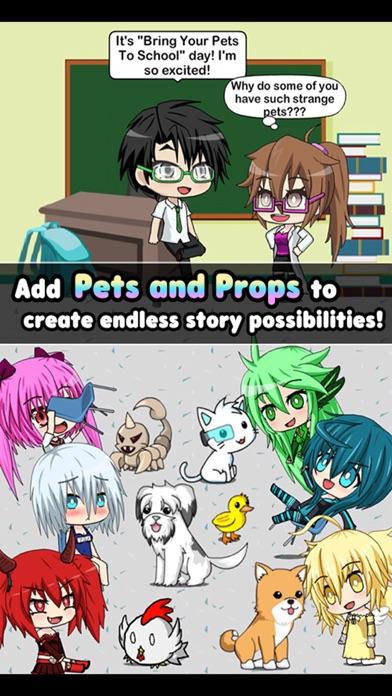 Pocket Chibi - Anime Dress Up screenshot 4