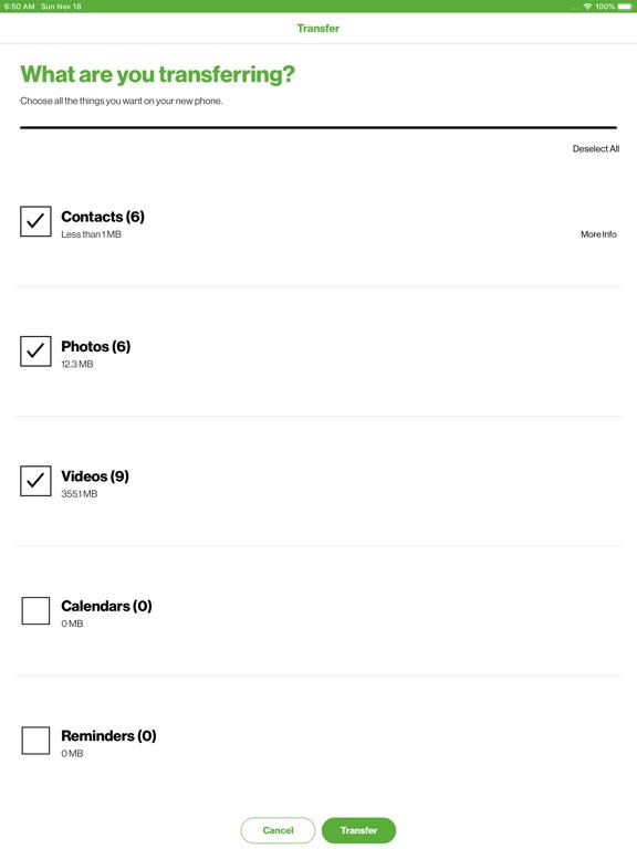 Phone Transfer screenshot 9