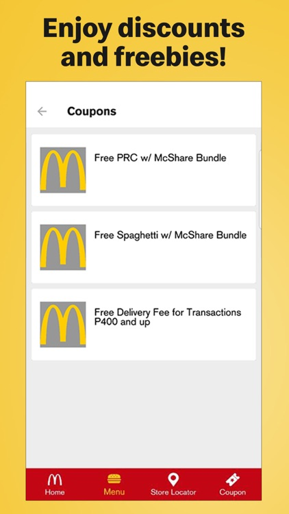 McDo Philippines screenshot-3