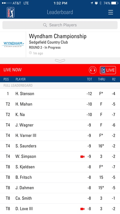 PGA TOUR Mobile screenshot-0