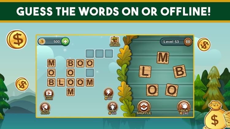 Word Nut: Crossword Word Games screenshot-3