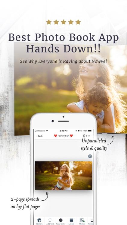Premium Photo Books by Nowvel screenshot-0