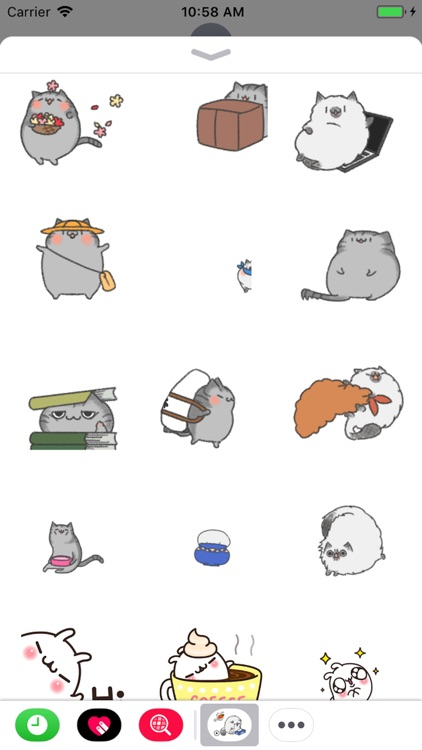 Animated Cat and Bunny Sticker