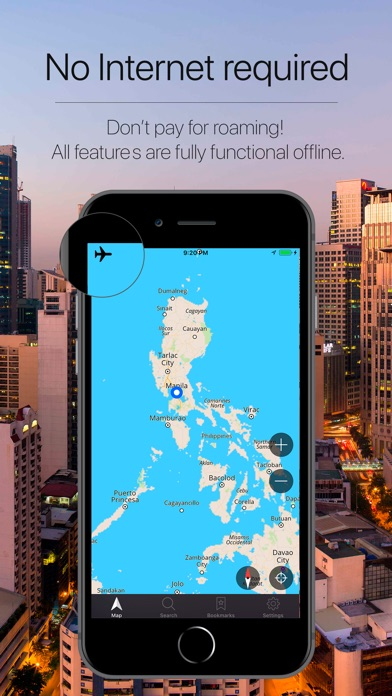 Philippines Navigation Screenshot