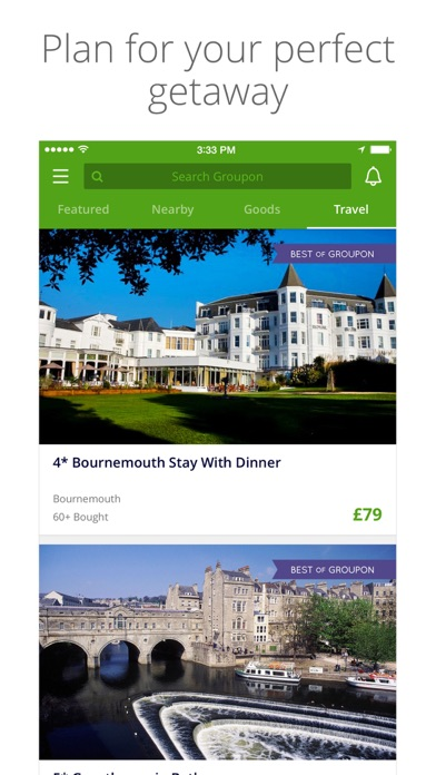 Screenshot for Groupon in Ireland App Store