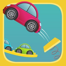 Activities of Flick Cars : Endless Arcade Toy Car Jump Racing HD