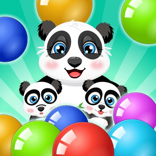 Bubble Shooter - Panda Pop for iPad