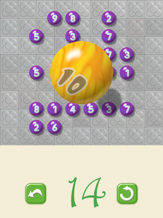 Balconia Math : 21 Marbles Screenshot