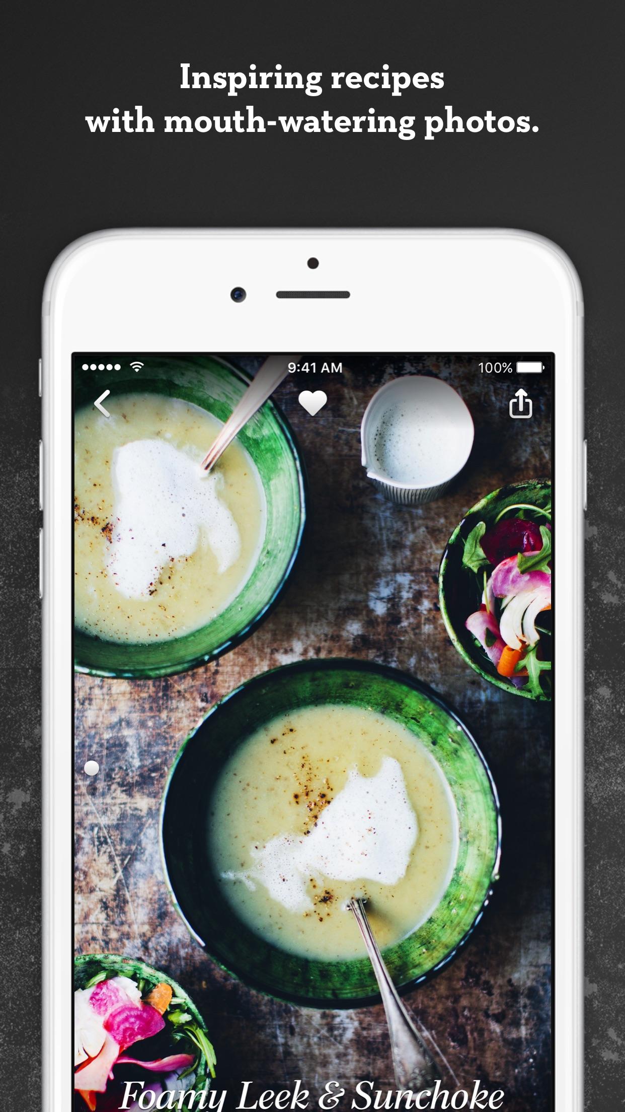Screenshot do app Green Kitchen