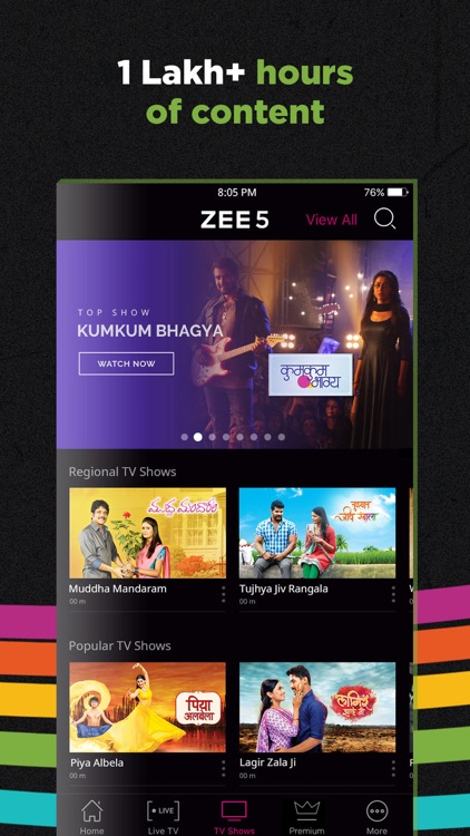 ZEE5 - Shows Live TV & Movies screenshot-3
