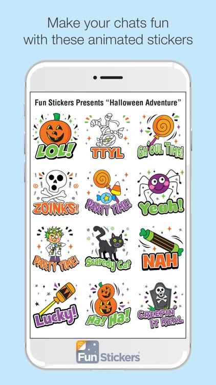 Halloween Adventure iSticker