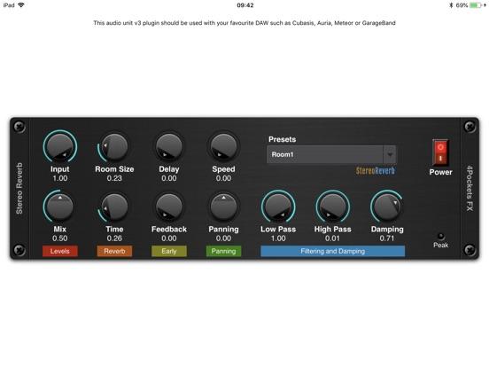 Stereo Reverb AUv3 Plugin screenshot 3