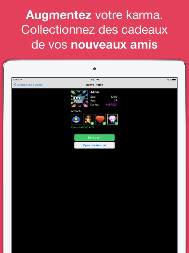 Rencontres chat salle apps